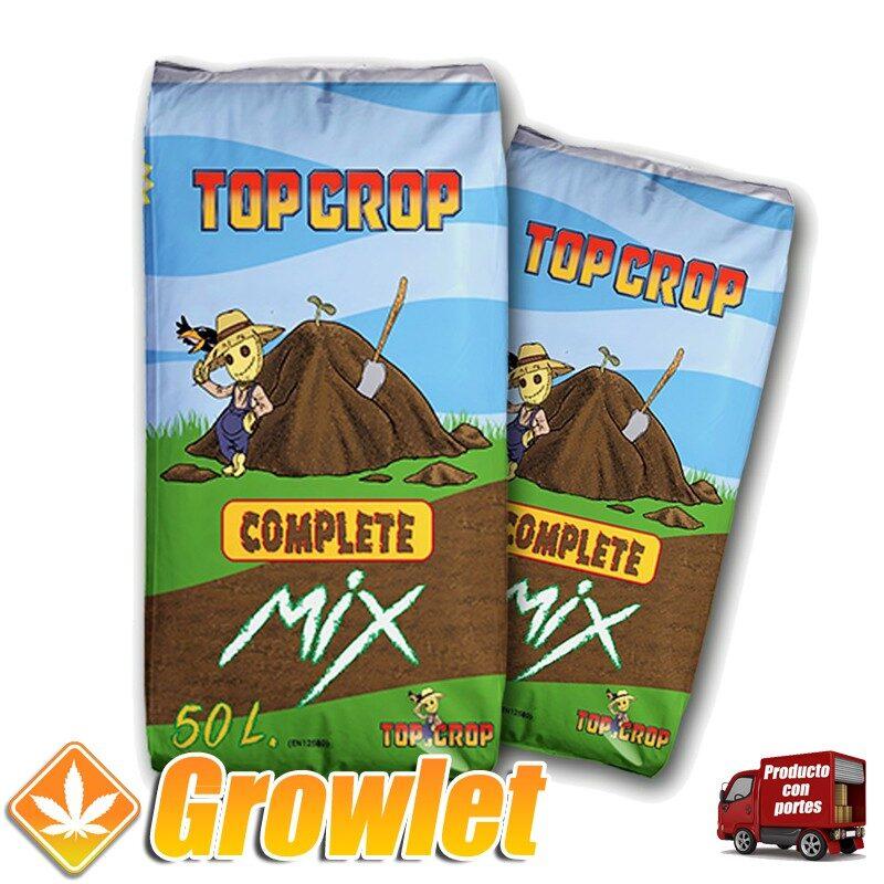 Complete Mix de Top Crop: Sustrato para cultivo en tierra