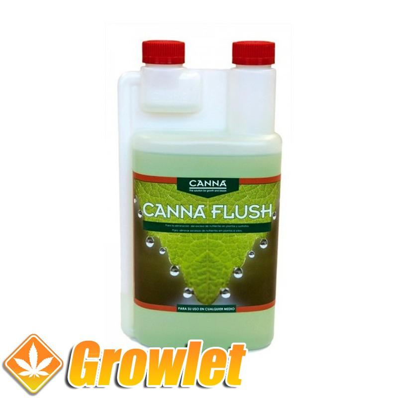 Canna Flush de Canna: Limpiador de sustratos