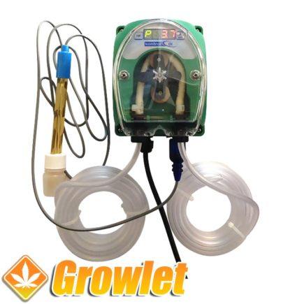 Controlador automático de pH Kontrol para el agua de riego