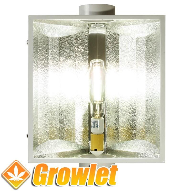 XTrasun 150 mm: Reflector de iluminación refrigerado de Hydrofarm