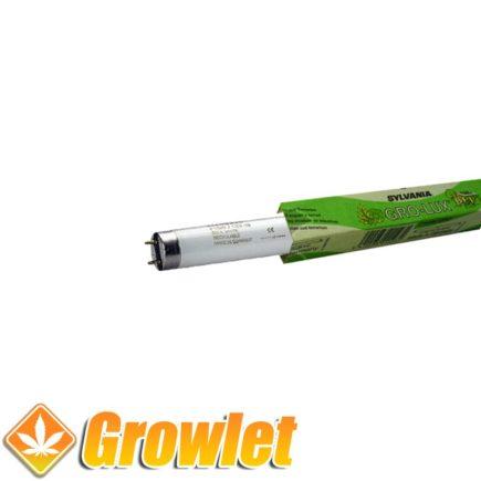 Tubo fluorescente 18 W Sylvania Grolux para germinación y crecimiento