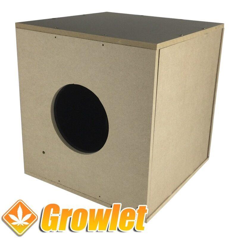 caja de madera dm