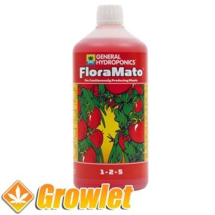 envase de potenciador de sabor para plantas