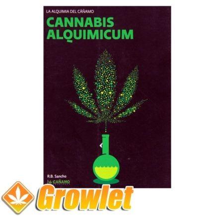 Vista frontal del libro Cannabis Alquimicum