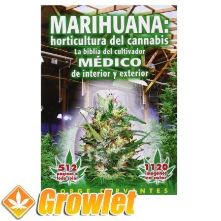 Vista frontal del libro La Horticultura del Cannabis