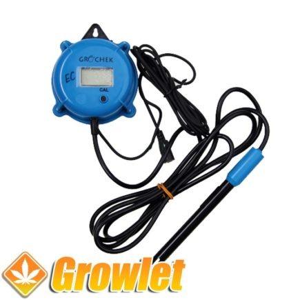 medidor digital de electroconductividad para cultivo