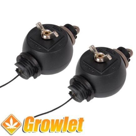 Poleas Easy Roller para regular la altura de los equipos de iluminación