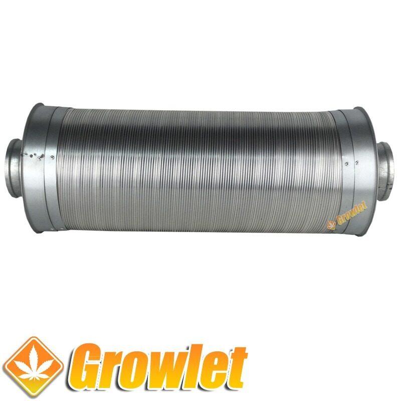 silenciador de extracción de aluminio