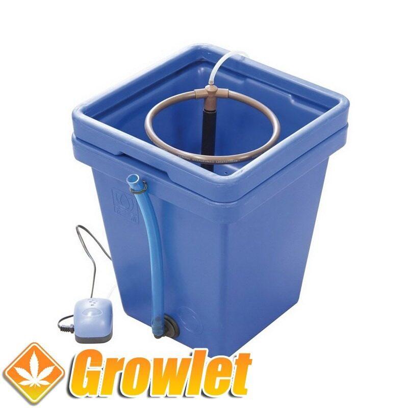 Sistema de cultivo hidropónico Waterfarm de GHE