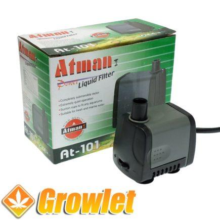 Bomba de riego sumergible Atman 101 (350 l/h)