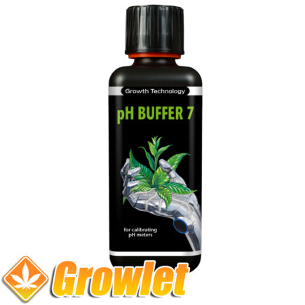 botella de liquido calibrador de ph 7 de la casa Growth Technology