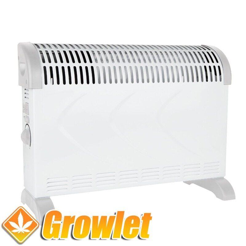 aparato de aire caliente convector
