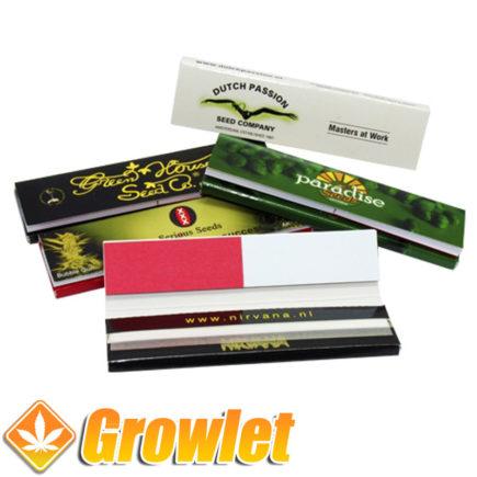 Papel de fumar de bancos de semillas