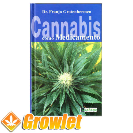 Vista frontal del libro Cannabis como medicamento