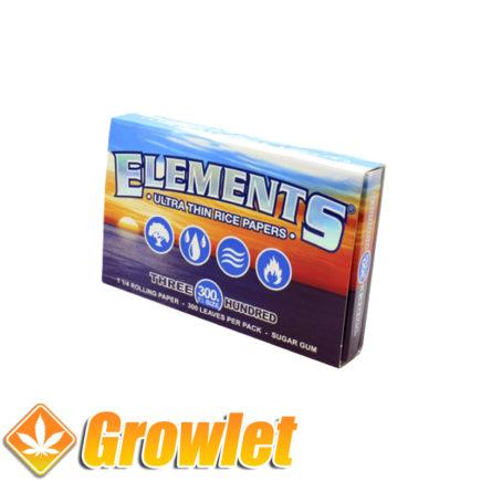 Papel de fumar Elements 300