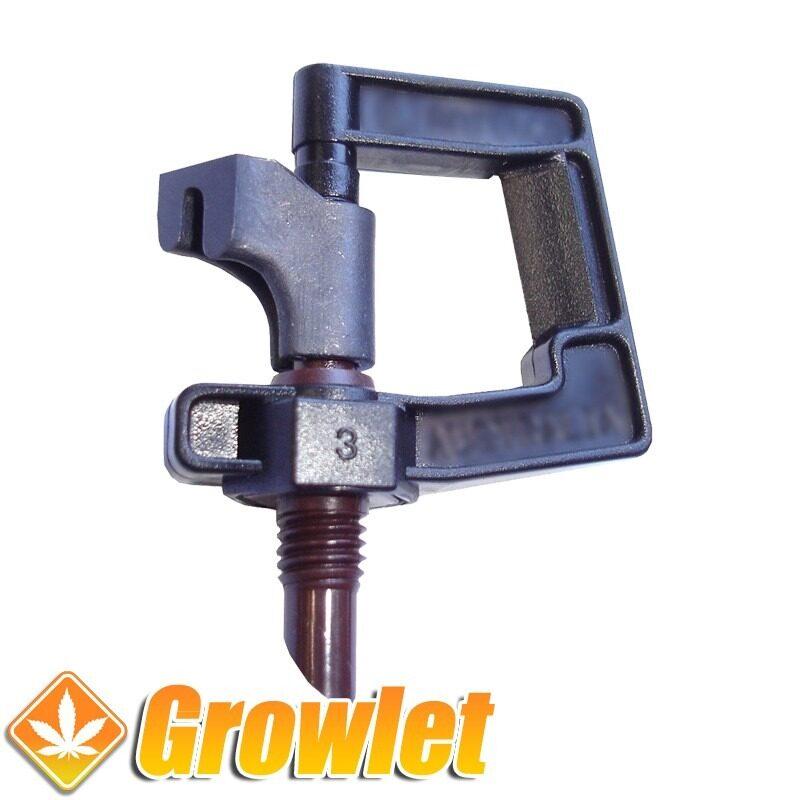 Sprayer o pulverizador de agua para tuberias de riego