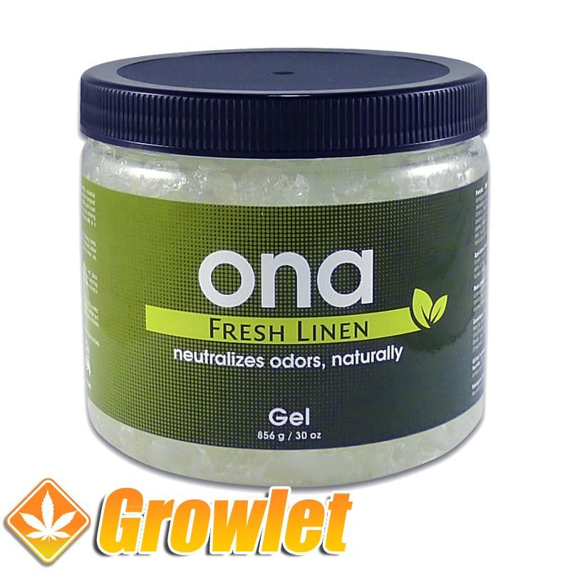 Neutralizador del olor: ONA Fresh Linen gel