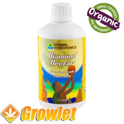 botella de diamond nectar de general hydroponics