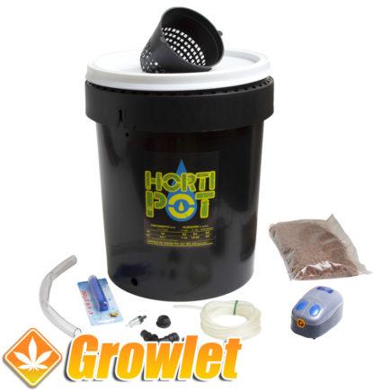 Sistema de cultivo hidropónico Hortipot