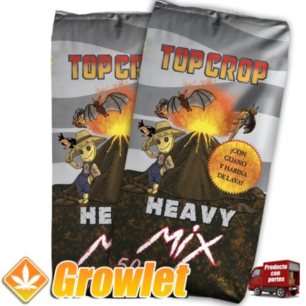 Heavy Mix de Top Crop: Tierra enriquecida con guano