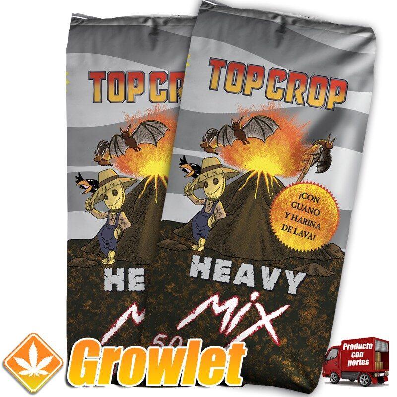 Heavy Mix de Top Crop: Tierra enriquecida con guano