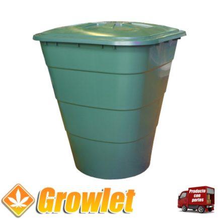 Deposito redondo para agua de riego de 200 litros