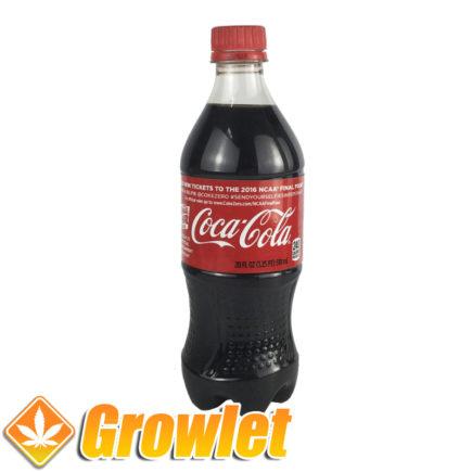 Botella de ocultación de Coca Cola de plástico