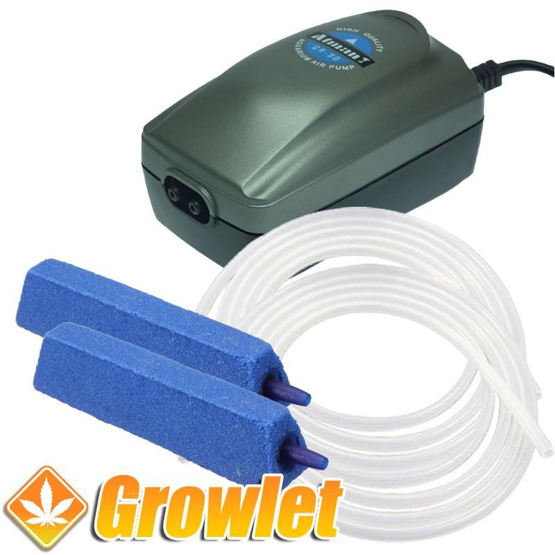 Kit para oxigenar depósitos de riego hasta 200 litros