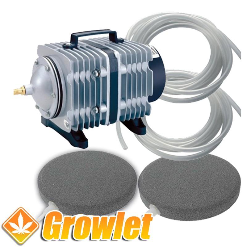 kit para oxigenar depósitos de riego hasta 1000 litros