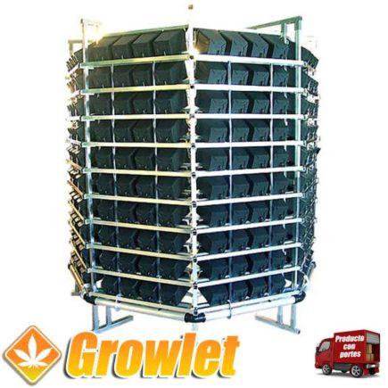 Sistema de cultivo vertical Pi Rack