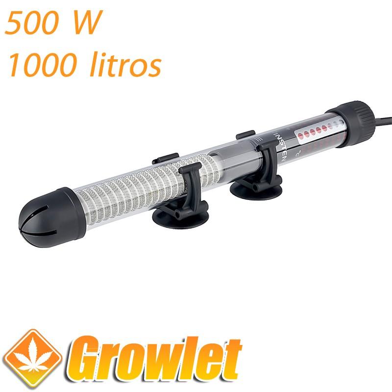 Calentador de agua de riego con selector de temperatura (500 W)