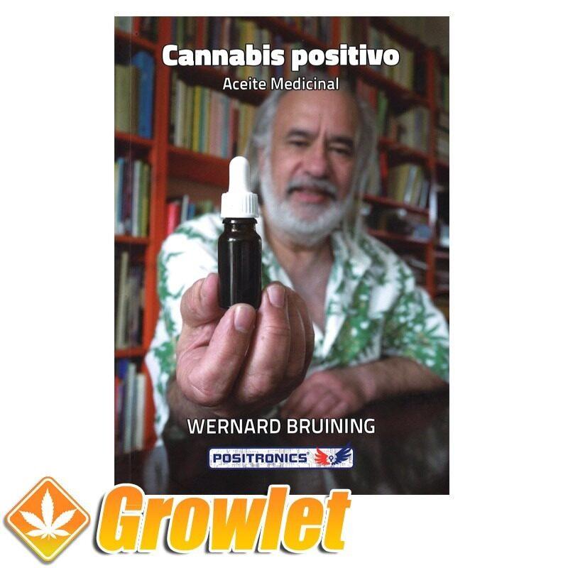 Vista frontal del libro Cannabis Positivo