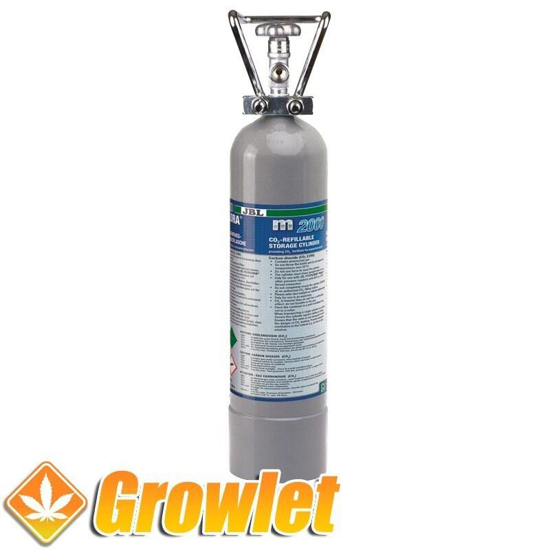 botella metalica de co2