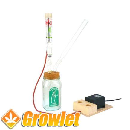 Vaporizador Verdamper Reizer de cristal