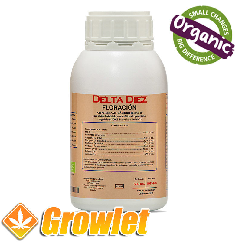 Botella de Delta 10 de Cannabiogen