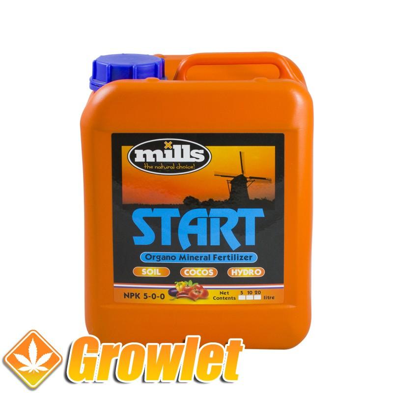 Start de Mills: Bio-estimulador y energizante