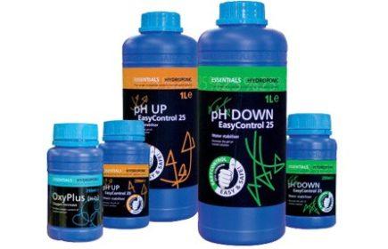 Líquidos para subir y bajar pH