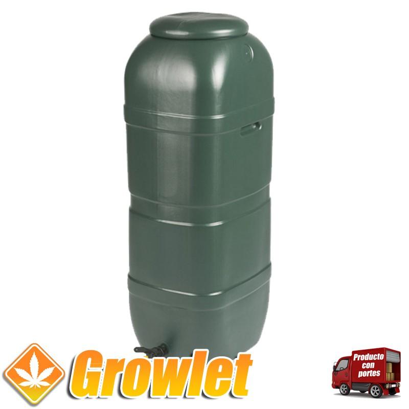 Depósito de 250 litros redondo para agua de riego (50 x 50 x 120 cm)