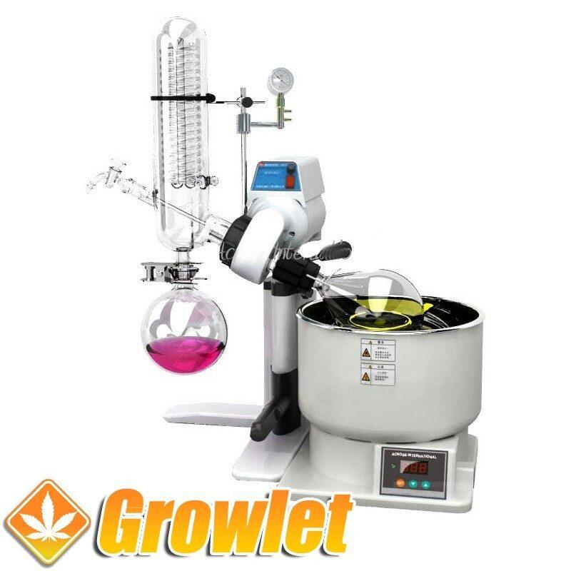 Evaporador rotatorio de solventes 2 litros Across International