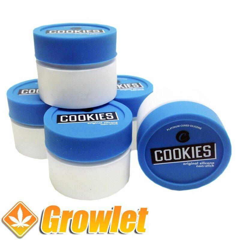 Bote de silicona Cookies de conservación BHO o Rosin