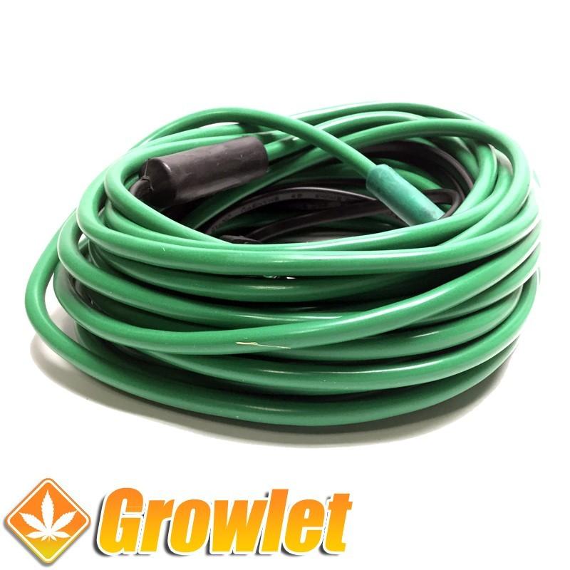 Cable calentador para invernaderos de esquejes o semillas