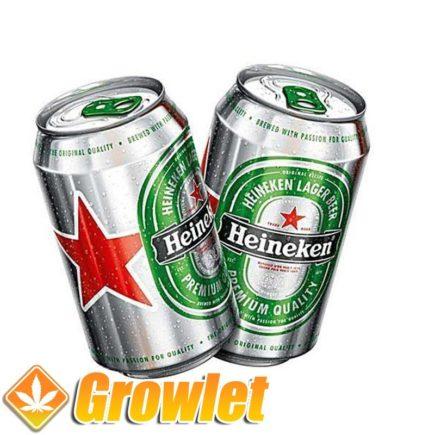Bote de ocultación: Heineken
