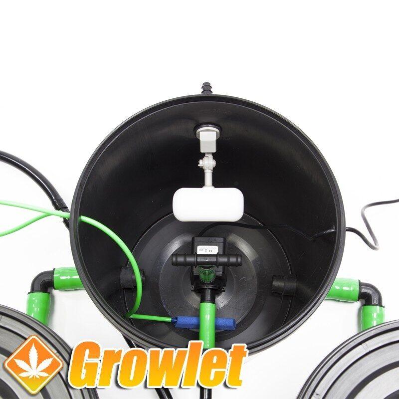 Alien RDWC 36-30 litros: Sistema de cultivo hidropónico