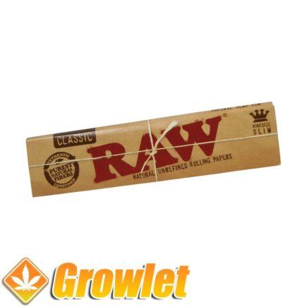 RAW Classic King Size Slim: Papel de fumar