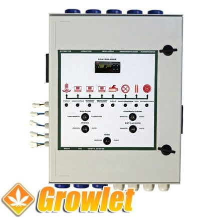 Controlador CO2 multifunción Indoor Novatec