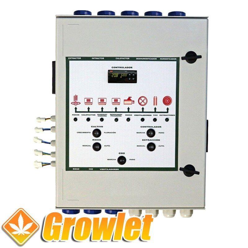 Controlador CO2 multifunción Indoor Novatec
