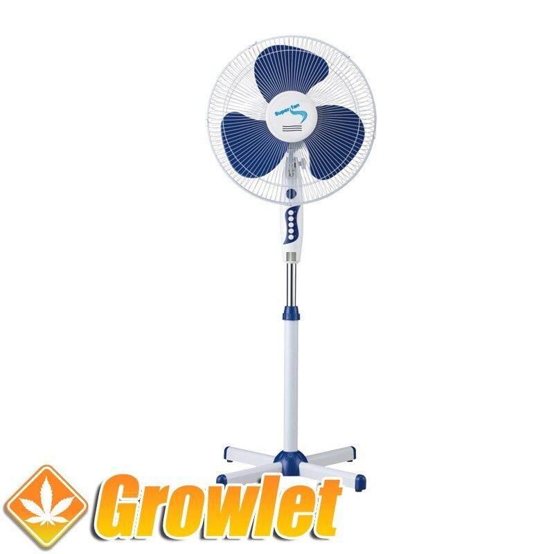 Ventilador de pie oscilante Super Grower