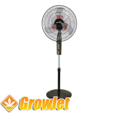 Ventilador de pie oscilante Super Grower Doble