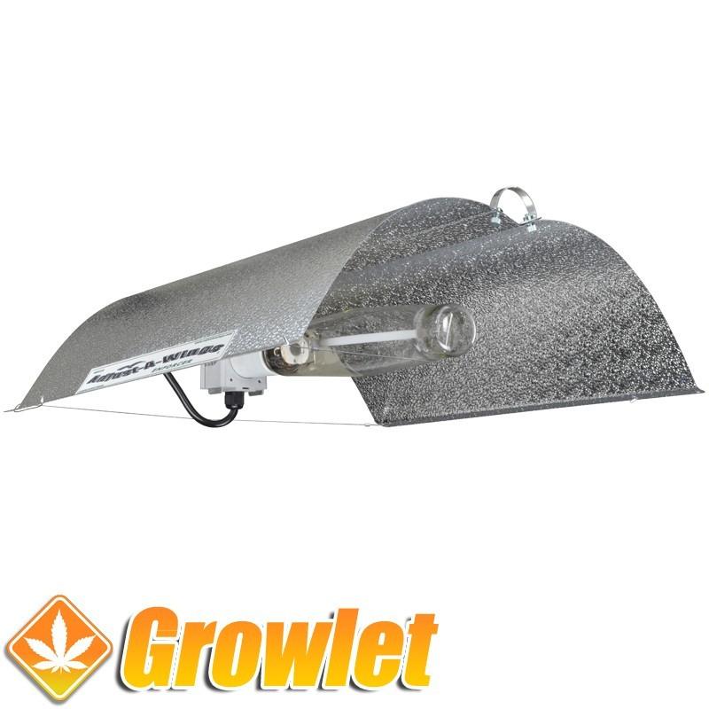 Adjust a Wings Enforcer Large: Reflector de iluminación para cultivo