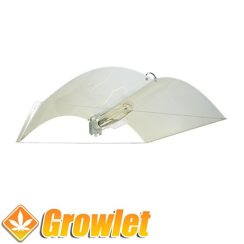 Adjust a Wings Defender Large: Reflector de iluminación para cultivo